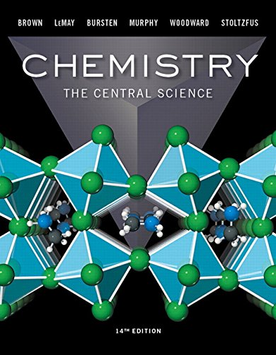 Test Bank For Chemistry: The Central Science (14th Edition) 14th Edition