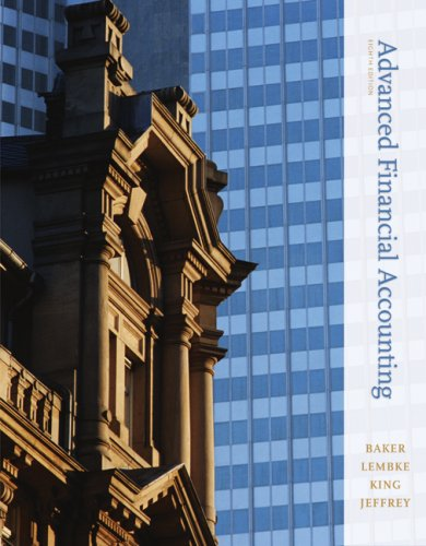 Test Bank For Advanced Financial Accounting, 8th Edition 8th Edition