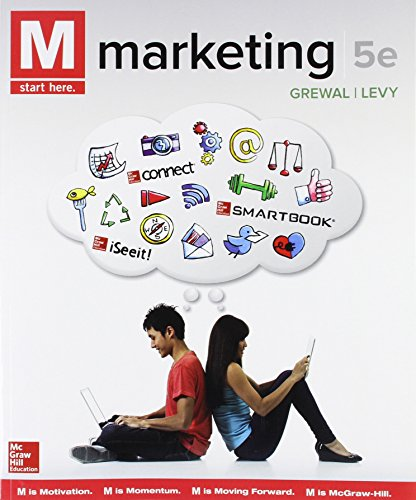 Test Bank For M: Marketing 5th Edition
