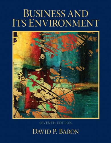 Test Bank For Business and Its Environment (7th Edition) 7th Edition