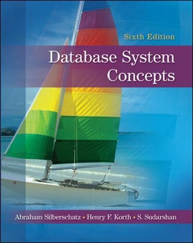 Test Bank For Database System Concepts 6th Edition