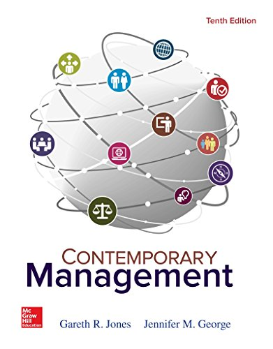 Test Bank For Contemporary Management 10th Edition
