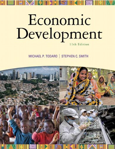 Test Bank For Economic Development (11th Edition) (The Pearson Series in Economics) 11th Edition