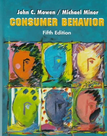 Test Bank For Consumer Behavior (5th Edition) Subsequent Edition