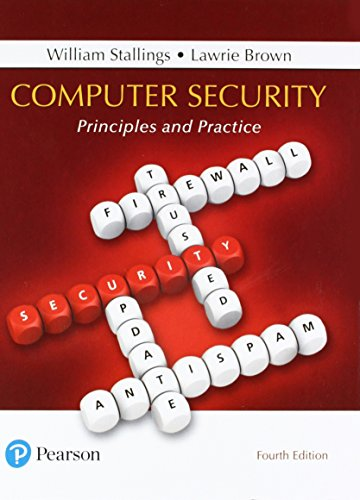 Test Bank For Computer Security: Principles and Practice (4th Edition) 4th Edition