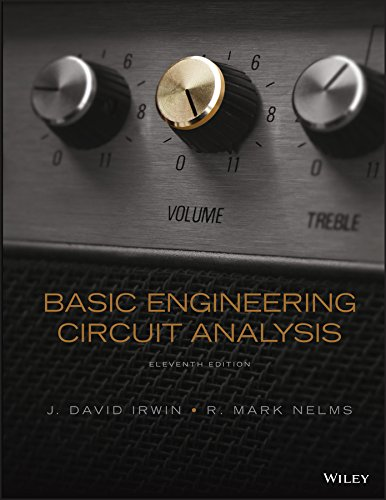Test Bank For Basic Engineering Circuit Analysis 11th Edition