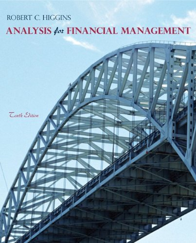 Test Bank For Analysis for Financial Management, 10th Edition 10th Edition