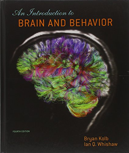 Test Bank For An Introduction To Brain and Behavior. Fourth Edition Fourth Edition