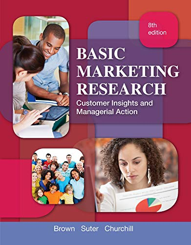 Test Bank For Basic Marketing Research (with Qualtrics Printed ) (TEST series page) 8th Edition