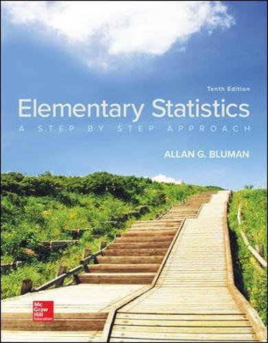 Test Bank For Elementary Statistics: A Step By Step Approach 10th Edition