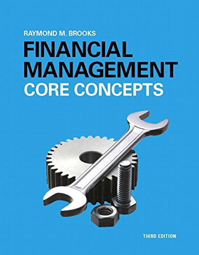 Test Bank For Financial Management: Core Concepts (3rd Edition) 3rd Edition