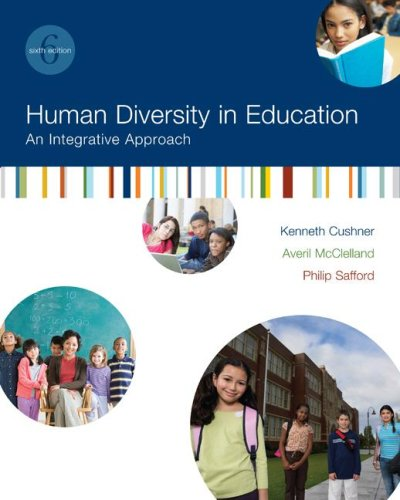 Test Bank For Human Diversity in Education: An Integrative Approach 6th Edition