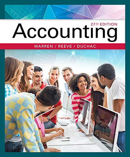 Test Bank For Accounting 27th Edition