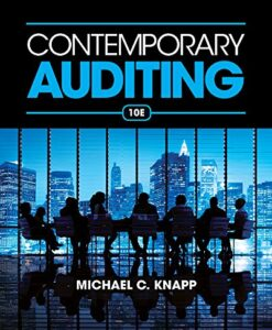 Test Bank For Contemporary Auditing 10th Edition