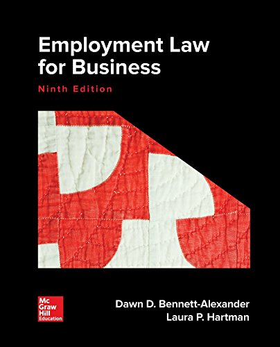 Test Bank For Loose Leaf for Employment Law for Business 9th Edition