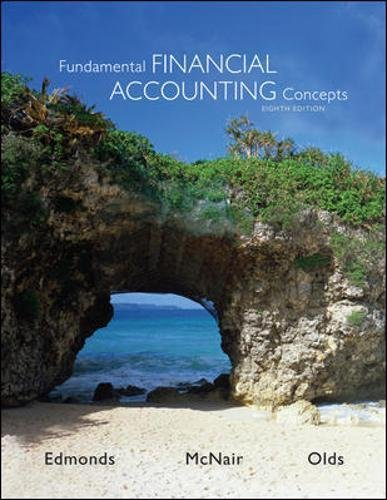 Test Bank For Fundamental Financial Accounting Concepts 8th Edition 8th Edition