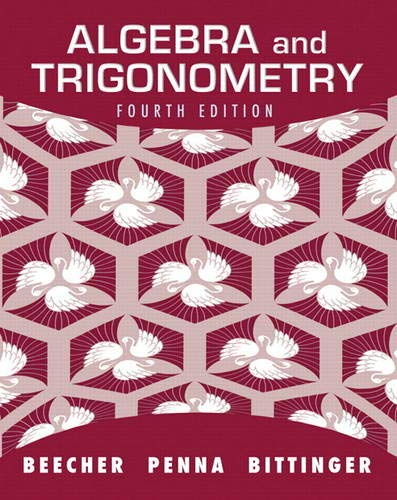 Test Bank For Algebra and Trigonometry (4th Edition) 4th Edition