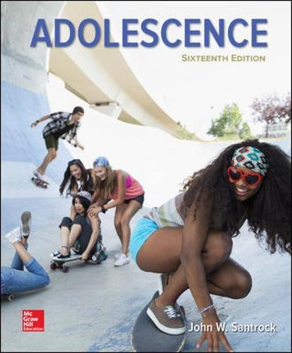 Test Bank For Adolescence 16th Edition