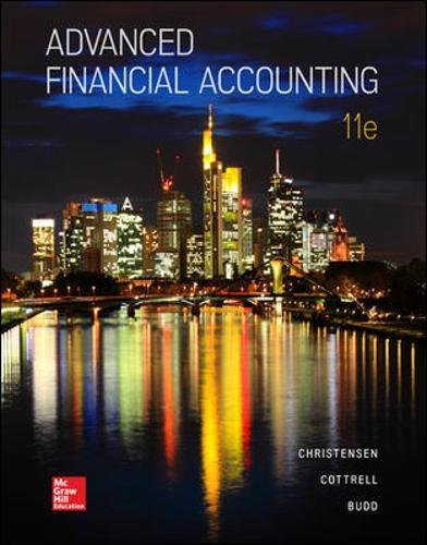 Test Bank For Advanced Financial Accounting 11th Edition