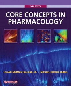 Test Bank For Core Concepts in Pharmacology (3rd Edition) 3rd Edition