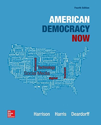 Test Bank For American Democracy Now 4th Edition