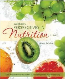 Test Bank For Wardlaw's Perspectives in Nutrition 9th Edition