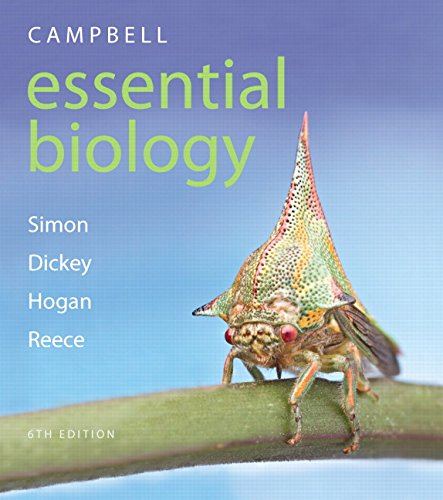 Test Bank For Campbell Essential Biology (6th Edition) – standalone book 6th Edition
