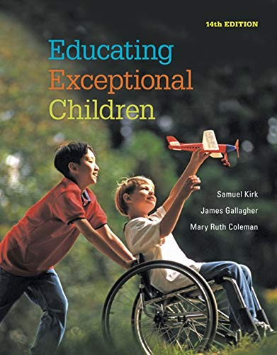 Test Bank For Educating Exceptional Children 14th Edition