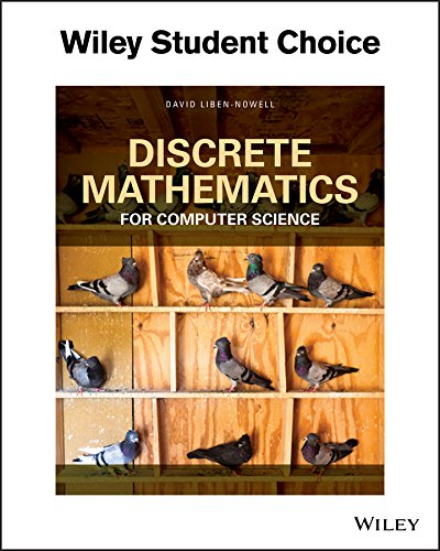 Test Bank For Discrete Mathematics for Computer Science 1st Edition