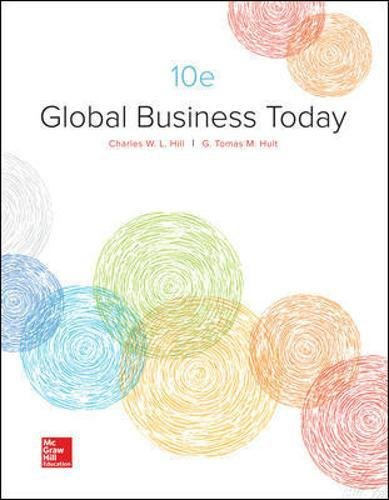 Test Bank For Global Business Today 10th Edition