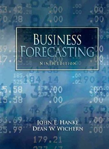 Test Bank For Business Forecasting