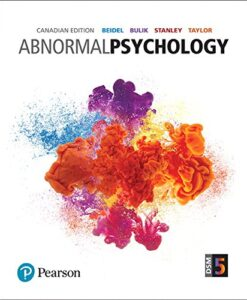 Test Bank For Abnormal Psychology, First Canadian Edition 1st Edition