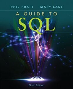 Test Bank For A Guide to SQL 9th Edition