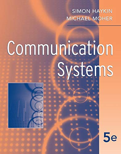 Test Bank For Communication Systems 5th Edition