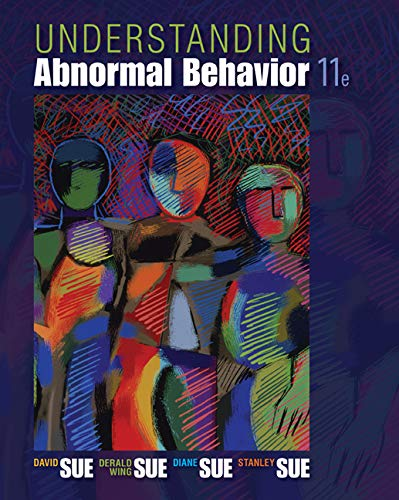 Test Bank For Understanding Abnormal Behavior 11th Edition