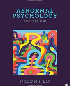 Test Bank For Abnormal Psychology Second Edition