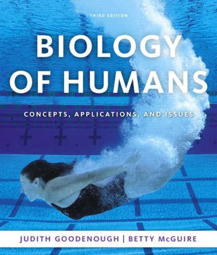 Test Bank For Biology of Humans: Concepts, Applications, and Issues (3rd Edition) 3rd Edition