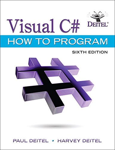 Test Bank For Visual C# How to Program (6th Edition) (Deitel Series) 6th Edition
