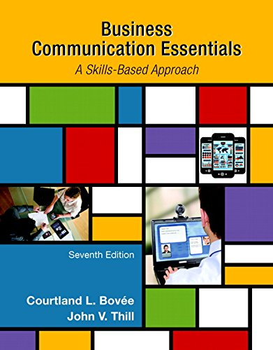 Test Bank For Business Communication Essentials (7th Edition) 7th Edition