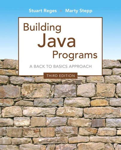 Test Bank For Building Java Programs (3rd Edition) 3rd Edition
