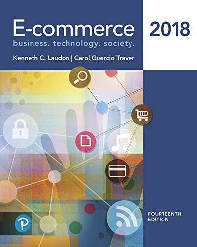 Test Bank For E-commerce 2018 (14th Edition) 14th Edition