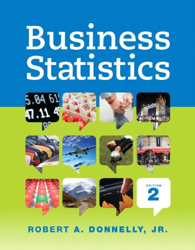 Test Bank For Business Statistics (2nd Edition) 2nd Edition