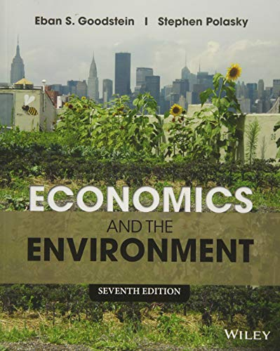 Test Bank For Economics and the Environment