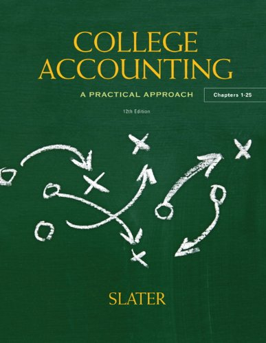 Test Bank For College Accounting (12th Edition) 12th Edition
