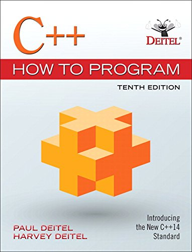 Test Bank For C++ How to Program (10th Edition) 10th Edition