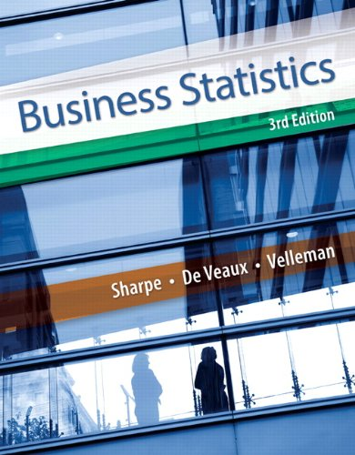 Test Bank For Business Statistics (3rd Edition) 3rd Edition