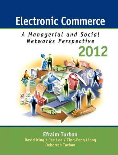 Test Bank For Electronic Commerce 2012: Managerial and Social Networks Perspectives (7th Edition) 7th Edition