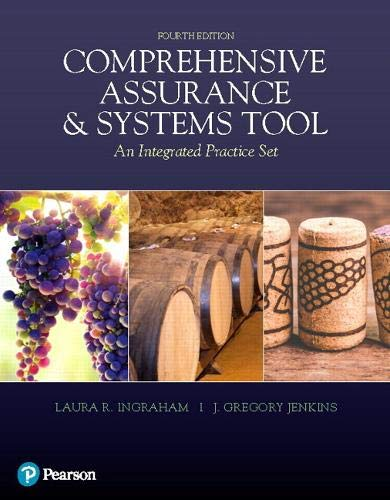 Test Bank For Comprehensive Assurance & Systems Tool (CAST) (4th Edition) 4th Edition