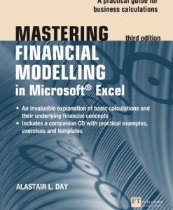Test Bank For Mastering Financial Modelling in Microsoft Excel 3rd edn: A Practitioner's Guide to Applied Corporate Finance (3rd Edition) 3rd Edition