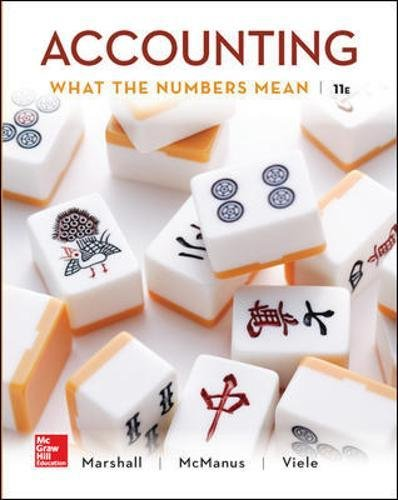 Test Bank For Accounting: What the Numbers Mean 11th Edition